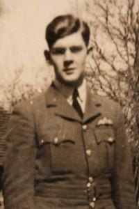 Flt Lt Christopher Holland