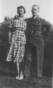 Flight Sergeant John A Downie & Wife Jean