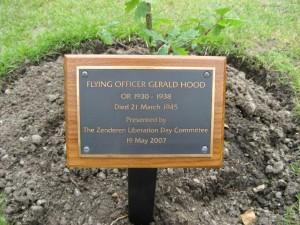 Gerald Hood Memorial Plaque