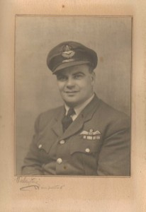Squadron Leader H Paston-Williams 1945