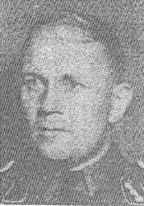 SS Untersturmfurher Paul Hardegan, the commander of the local SD