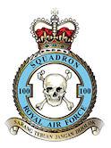 100 Squadron RAF Bomber Command Avro Lancaster
