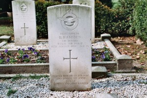 Pilot Officer Benjamin Ramsden - Hardenberg Cemetery
